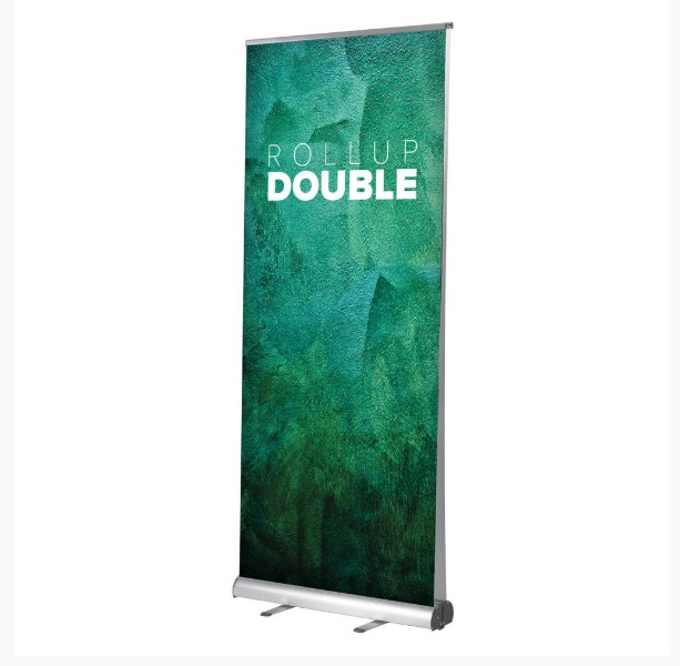 Roll-Up Double 85x200cm s tlačou