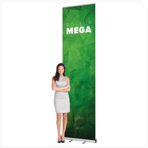Roll-Up Mega 120x300cm s tlačou